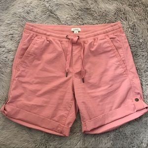 L.L. Bean Pink Pull On Cotton Shorts